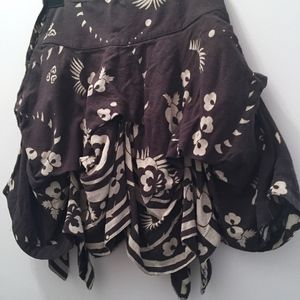 ALL Saints ruffeled skirt, rare find